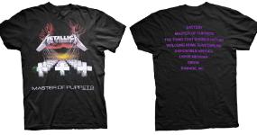 Rocková merch trička, mikiny z oficiální distribuce
