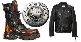 Světová rock móda MADE IN SPAIN - značka NEW ROCK