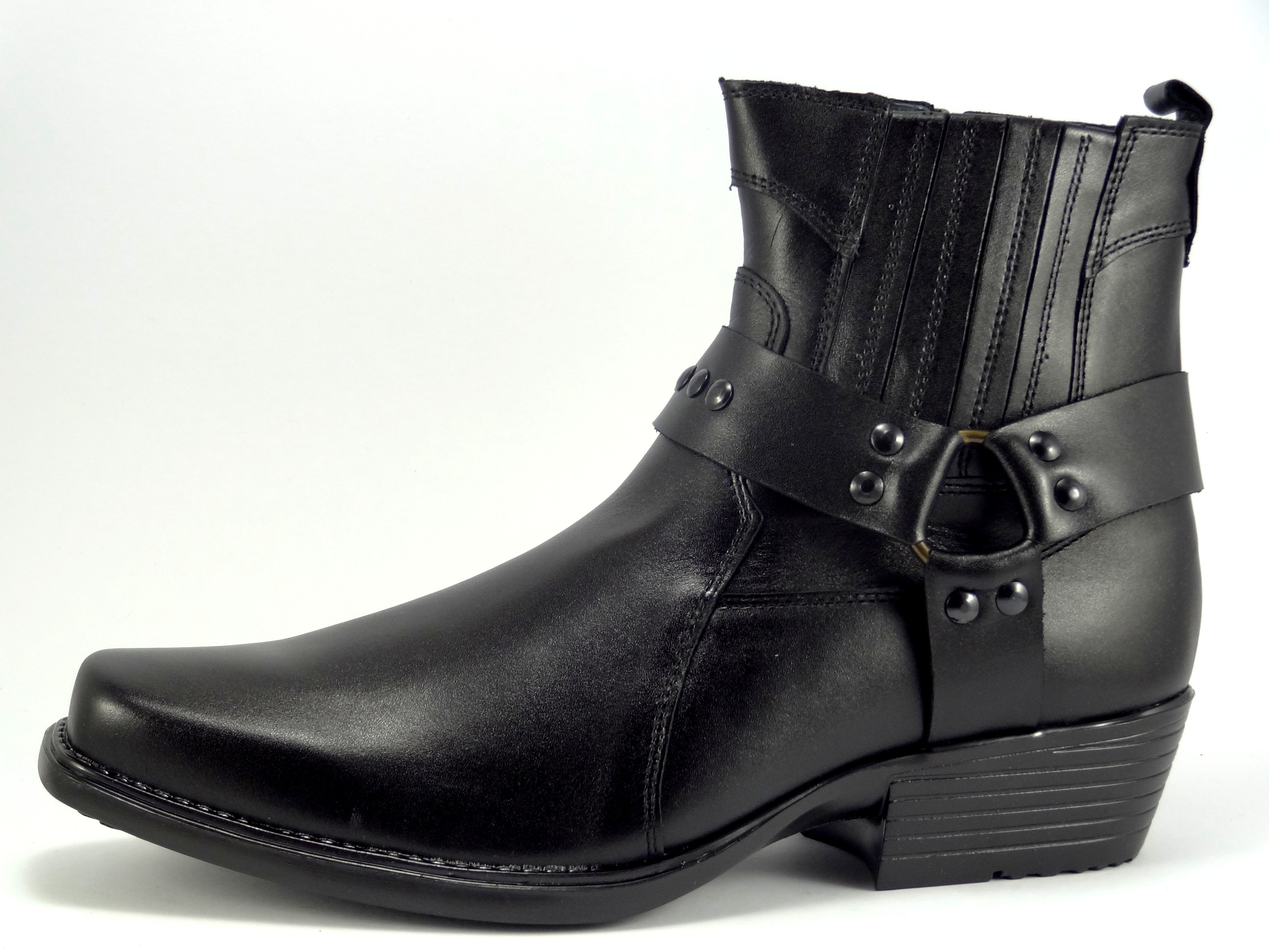 422ba3ce845 Selma westernové boty na motorku na koně 1025 black