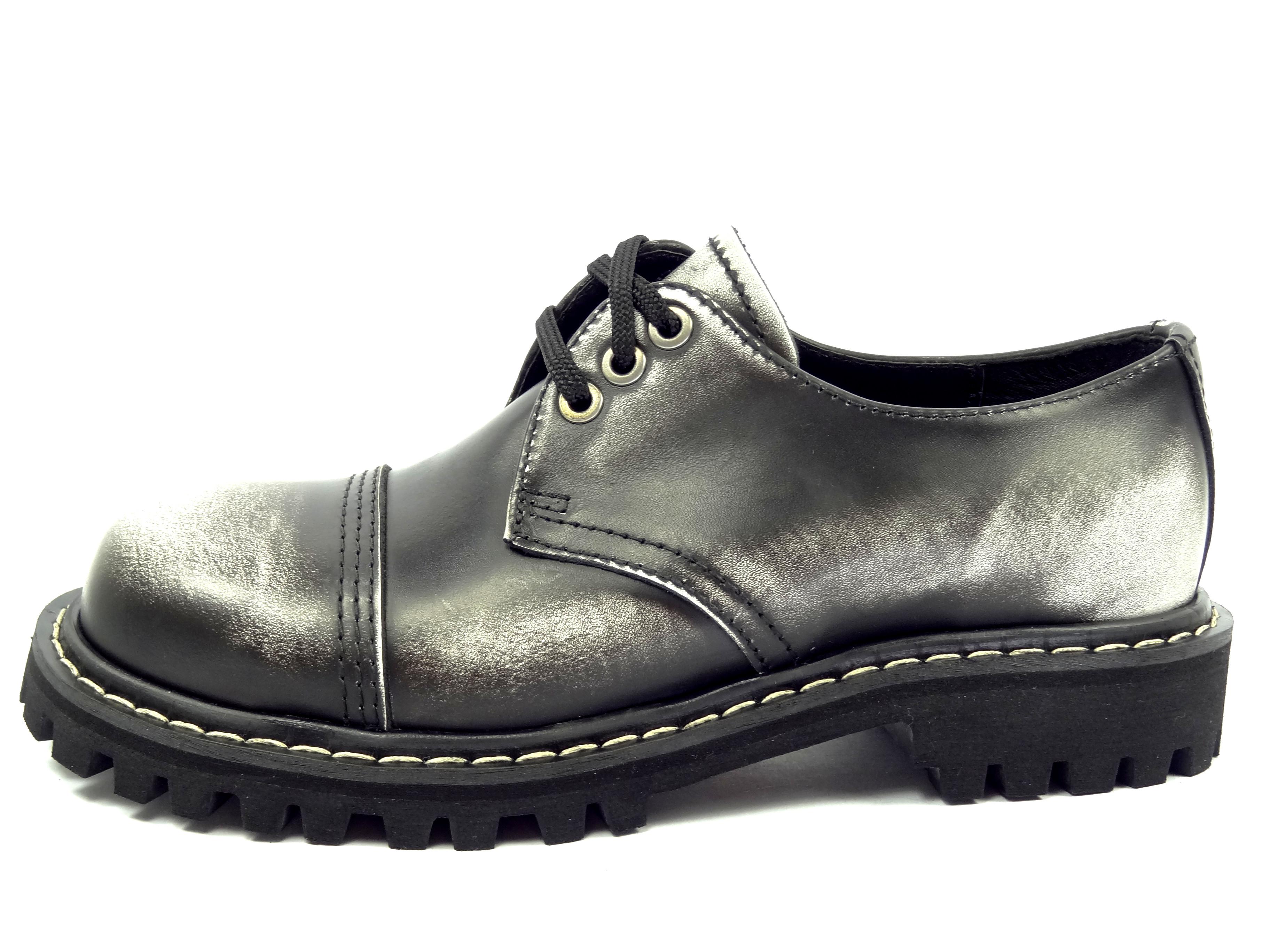 Opposition boty 3 dírkové bílé černé  2254f1f0b6