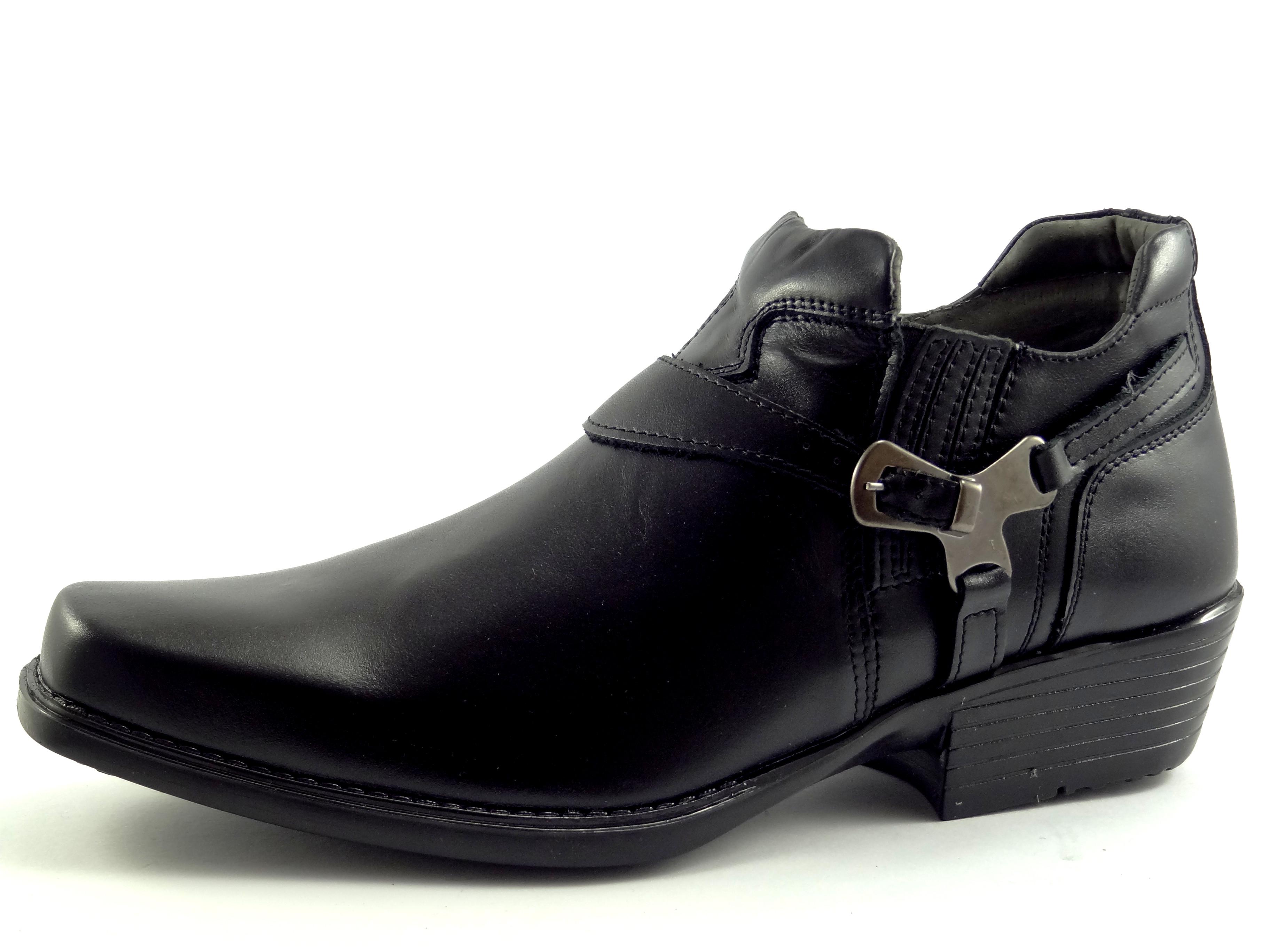 Selma westernové boty na motorku na koně nízká 1026 black  d649220139