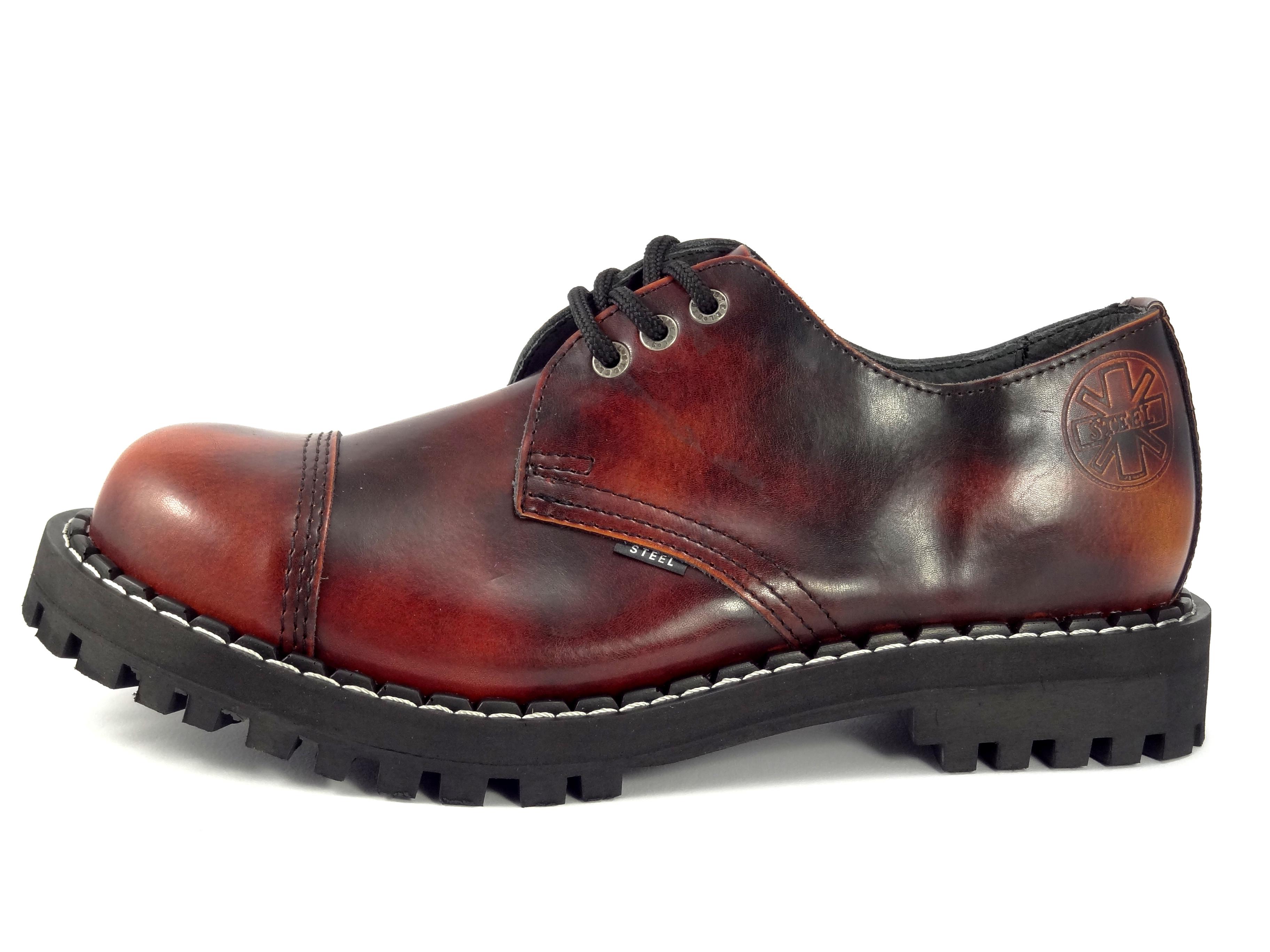Steel boty 3 dírkové oheň  163ee0230d