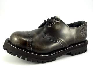 425fa539ffc Steel boty 3 dírkové bílé černé