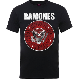 Tričko Ramones Red Fill Seal Mens BL