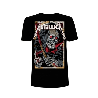 Tričko Metallica Death Reaper Black