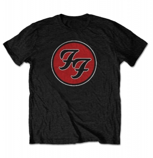 Tričko Foo Fighters FF Logo Black