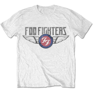 Tričko Foo Fighters Flash Wings bílé